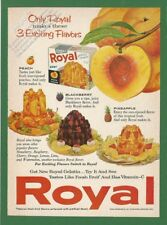 ROYAL Gelatin - 1960 Vintage Reader's Digest Print Ad