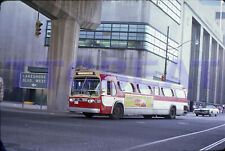 TORONTO BUS SLIDE: TTC 3559 GM NEW LOOK BAY SHUTTLE ROUTE (1974 ORIGINAL)