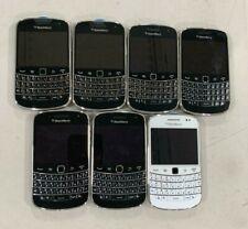 LOT OF 7 BlackBerry Bold 9900 Factory Unlocked Smartphone - Black 3G GSM WIFI
