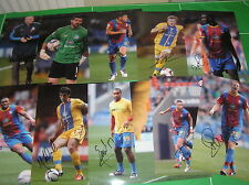 Crystal Palace FC 11 x Signed 2012/13 Promotion Season 12x8 Player Photographs