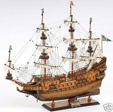 """Vasa Swedish Wasa Wooden Tall Ship Model 29"""" Sailboat Built Boat New"""