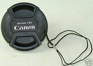 58mm Lens cap For  Canon 35-135mm 70-300mm 100-300mm 24mm 18-55mm 55-250mm 50mm