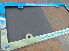 1 Carolina Panthers EZ View PVC Car or Truck License Plate Frame