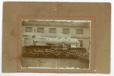 Photo Usine Gouïn Paris 17ème locomotive ancienne vapeur train ferroviaire 1907