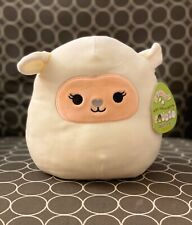"NWT Squishmallow 8"" Cream Lamb Lily Easter 2020 plush kellytoy NEW"