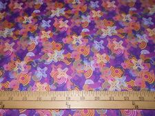 1 yard Paintbrush Studios Frenzy Jacks Fabric