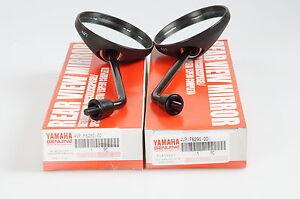 2x Yamaha Mirrors for Zuma 50 YW50  50 2T ( 2002 -2011 )  Genuine parts US
