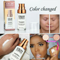 TLM SPF 15 Flawless Color Changing Foundation Makeup Base Face Liquid Cover