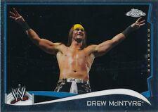 #66 DREW McINTYRE 2014 Topps Chrome WWE