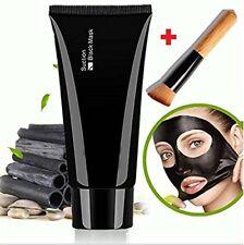 Nettoyer les points noirs profonds Acne Remover Peel masque + brosse en bois