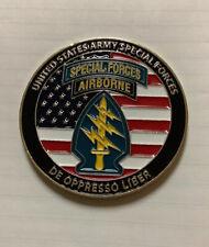 US ARMY SPECIAL FORCES AIRBORNE KURDISTAN COUNTER TERRORISM UNIT CHALLENGE COIN