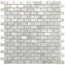 Mother of Pearl Shell Mosaic Tile for Kitchen Backsplash/Bathroom Tile