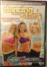 DANCING WITH THE STARS FAT BURNING CARDIO DANCE~Free Shipping