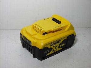 Genuine DeWalt XR DCB184 18V 5.0Ah 90WH Lithium Battery Full Working Order 2020