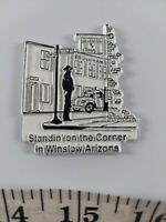 Vintage rubber refrigerator magnet Standing on the corner in Winslow AZ awesome