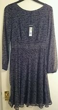 Marks and spencer collection black and grey dress  size 8 BNWT