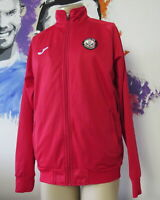 Partick Thistle red training jacket Partick Weir Youth Academy Joma size L
