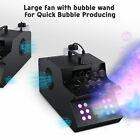 Fog Smoke Bubble Machine 3in1 Rgb Led Dmx Fogger Smoker Stage Lighting Dj Show