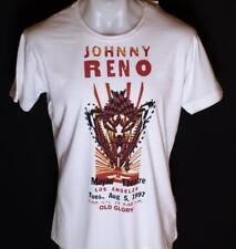 Bnwt Authentic Men's Old Glory T Shirt Xlarge XL Johnny Reno New White