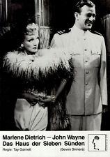 Das Haus der sieben Sünden ORIG DIN A2 Kinoplakat Marlene Dietrich / John Wayne
