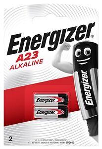 Energizer A23 12V 2 Pack Long Lasting Power Alkaline Batteries Battery Pack