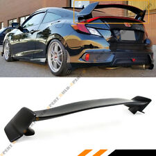 FOR 2016-18 10TH GEN HONDA CIVIC 2 DR COUPE CTR TYPE R STYLE TRUNK SPOILER WING