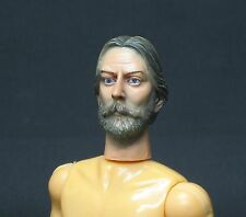 CUSTOM HEAD DONALD SUTHERLAND Es1/10(175mmBody) FOR MADELMAN / MEGO