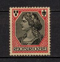 (YYAZ 292) Germany 1910 MNH Test Stamp Specimen Reichsdruckerei Probedruck