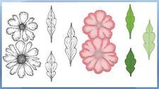 Heartfelt Creations Stamp & Die Combo ~  LARGE SWEET PEONY  Blooms - 3820, 7174
