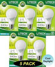 5 x LED 10W Pearl Light Globe Bulb Lamp A55 GLS E27 Screw Cool White 5000K