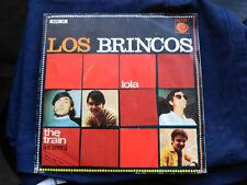 SINGLE LOS BRINCOS - LOLA / THE TRAIN - NOVOLA SPAIN 1967 G+/VG+
