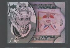 2016-17 Upper Deck Tim Hortons Platinum Profiles #PP7 Carey Price