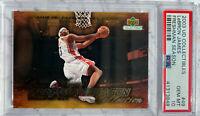 Pop 14! 2003 UD Collectibles Freshman Season LeBron James Rookie PSA 10 Gem Mint