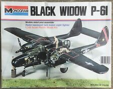 Northrop P-61 Black Widow Night Fighter, MONOGRAM 1/48