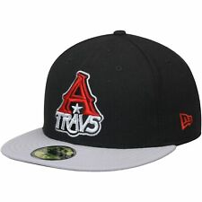 Arkansas Travelers New Era Authentic Road 59FIFTY Fitted Hat - Black/Gray