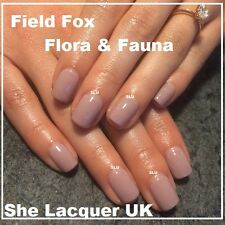 BLUESKY FIELD FOX 80594 FLORA & FAUNA COLLECTION NUDE NATURAL NAIL GEL 2015 NEW