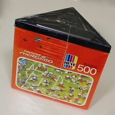 Soccer Puzzle 1988 Crazy Football Mordillo Heye 500 Piece Unopened Wrapped NOS