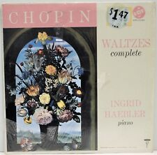 "Chopin Waltzes Complete ""Ingrid Haebler Piano"" VOX Records #STPL 511.970 EX"