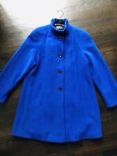 Pierrette Switzerland Neiman Marcus Wool/Cashmere/Angora Swing Coat Size 4
