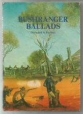 BUSHRANGER BALLADS Illustrated by PRO HART 1980 Hc Intro by Bill Scott COLOUR