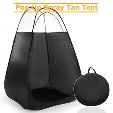 New Large Portable Pop Up Spray Tanning Tent Booth Mobile Sunless Tan Carry Bag