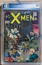 X-MEN #11 CGC 7.0 1ST APP THE STRANGER Awesome! Buy ME!!!