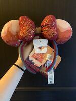 Disney Minnie Mouse Main Attraction Big Thunder Mountain Headband Ears MMA