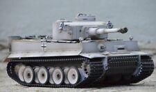 RC tanques 2.4 GHz Taigen v3 electrónica tiger 1 aerógrafo gris bb rrz 1:16