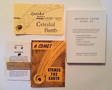 Meteorite Crater Study Kit with Nininger's A Comet Strikes the Earth and samples