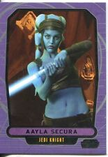 Star Wars Galactic Files 2 Base Card #424 Aayla Secura