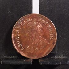 CIRCULATED 1912 1/2 PICE INDIA (UK) COIN (52818)1