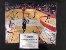 TONY PARKER SIGNED 8x10 PHOTO FANATICS COA SAN ANTONIO SPURS HOF
