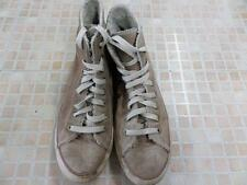 Converse All Star High Top Trainers Mens UE 39.5 UK 6.5 Beige Grade C ab897