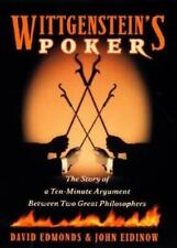 Wittgenstein's Poker : The Story of a Ten-Minute Argument Between Two Great...